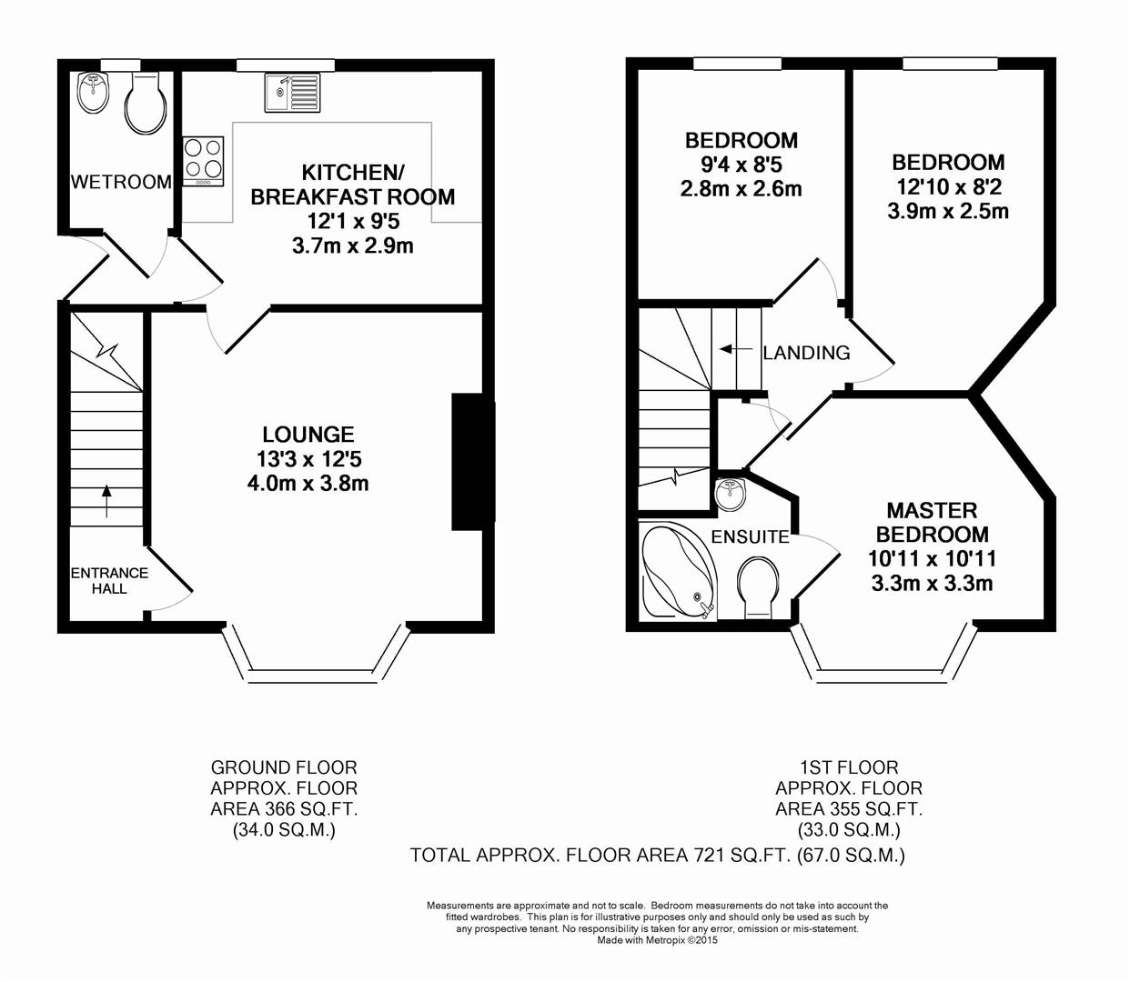 Floorplan for Macleod Road, Horsham